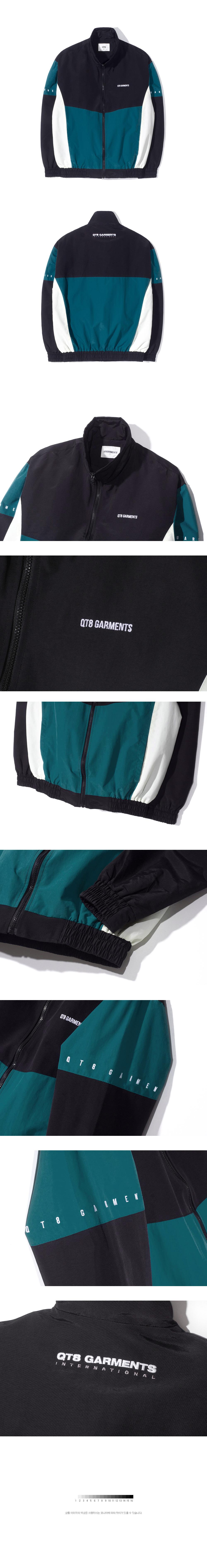 큐티에잇(QT8) IG Old Track Jacket (Deep Blue)