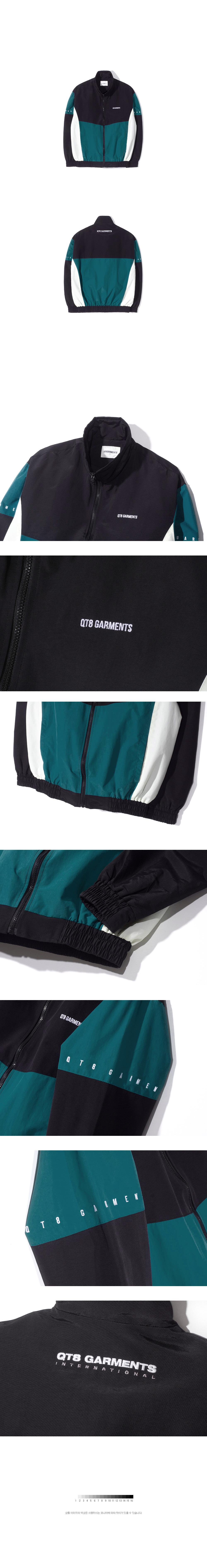 큐티에잇(QT8) KP Old Track Jacket (Deep Blue)